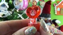 Cesta de Navidad con Huevos Sorpresa de Violetta, Frozen, Peppa Pig y Kinder - Especial Navidad 2014