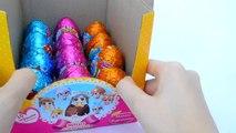 Еще больше Носиков-курносиков, шоколадные яица киндер Snub nose Kinder chocolate eggs kids
