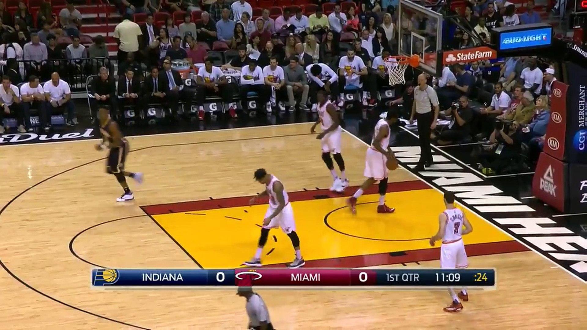 NBA RECAP Pacers with 11-0 Run | Pacers vs Heat | February 22, 2016 | NBA 2015-16 Season
