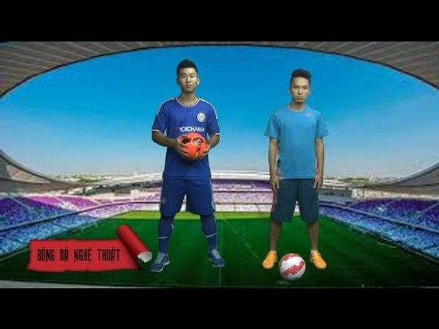 Hướng dẫn bóng đá nghệ thuật rê bóng kiểu Ronaldinho | BĐNT