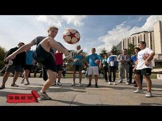 Hướng Dẫn Cách Tâng Bóng Kiểu Gareth Bale |TBNT
