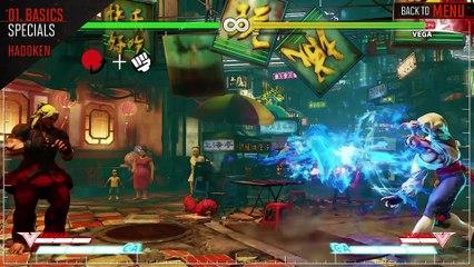 SFV - Guide Officiel de Ken de Street Fighter V