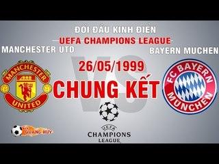 MU vs Bayern Muchen - Chung kết C1 1999