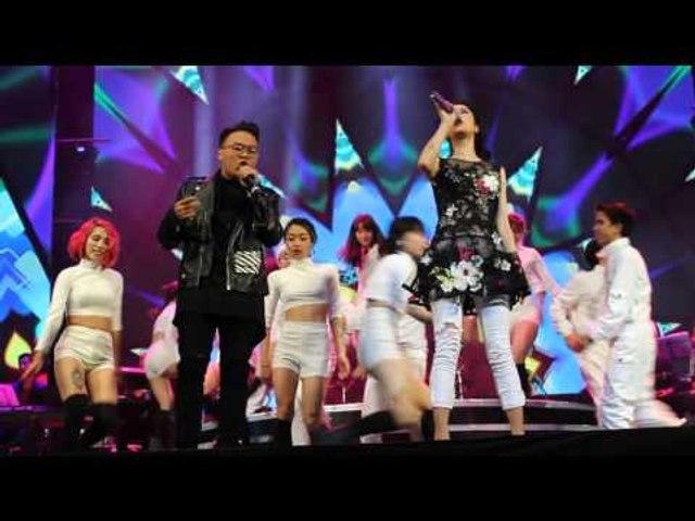 Thu Phương | LK Celebration - Coco Jambo - Sha La La [Fancam live show 2016]