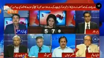 Hassan Nisar insulted Ayesha Baksh by refusing to giver her any answer to her question