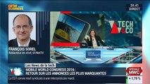 Les News de la Tech: La vidéo à 360° fait un carton au Mobile World Congress 2016 - 22/02