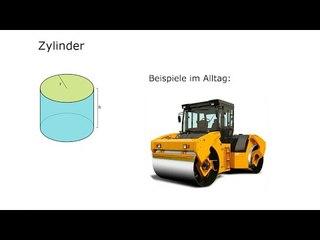 STE05-1 Einführung Zylinder - Gerader Kreiszylinder