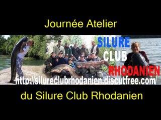 Journée Atelier du Silure Club Rhodanien