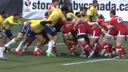 HISTORIC first rugby test between Canada and Brazil