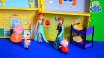 Анна и Эльза пришли в гости к Свинке Пеппе  Анна и Эльза игрушки  Куклы Анна и Эльза  Пеппа новые