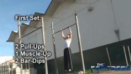 Upper Body Bodyweight Workout - Intermediate