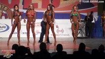 2015 ARNOLD AMATEUR BIKINI FITNESS - E CLASS FINAL - Female Bodybuilding Muscle Fitness