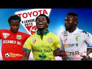 Ngoại binh: Những cú sút rung mành lưới V.League