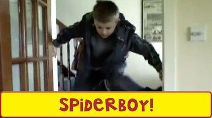 The Amazing Spiderboy!