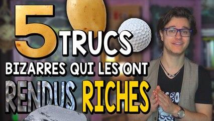 CHRIS : 5 Trucs Bizarres Qui Les Ont Rendus Riches