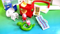 NEW Peppa Pig Holiday Sunshine Villa Playset 2015 Casa de Vacaciones y Vacanze by Disney Collector