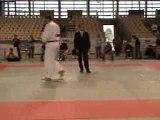 Championnat Judo France 2D +100kg Place 3 Allouche-Lacombe