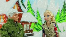 Frozen Elsa Kissing Hans and Evil Cousin Asle Bye with Anna after the Wedding. DisneyToysFan
