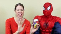 BEAN BOOZLED Challenge Jelly Belly DisneyCarToys & Spiderman Gross Jelly Bean Challenge