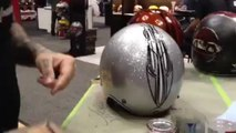 Skratch Pinstriping a Bell Custom 500 Helmet for Cycle World