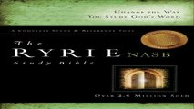 Download The Ryrie NAS Study Bible Genuine Leather Black Red Letter  Ryrie Study Bibles 2008