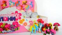 Шоколадные яйца с сюрпризом «Цветочные Пони» Часть 2. Chocolate eggs Surprise Flower Pony Part 2