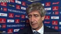Chelsea 5 1 Manchester City Manuel Pellegrini Post Match Interview