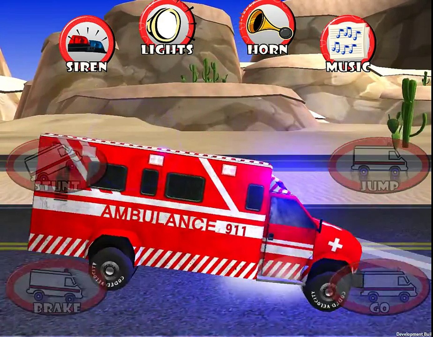 Ambylance race - rescue for tobblers and kids - Games TV Kids Videos