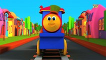 Bob, The Train | Learn Colors Song With Bob | Colors Song | Adventure with Colors | Colors Ride