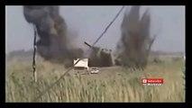 La sovversione di un carro armato фугасе.Iraq, - 2016