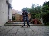 Skateboard Ollie Flip Pop-shove-it ralenti