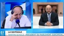 Schengen, immigration et Brexit, Martin Schulz répond aux questions de Jean-Pierre Elkabbach