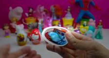 kinder surprise violetta barbie peppa pig kinder surprise eggs Spiderman play doh violetta 3 egg FUL
