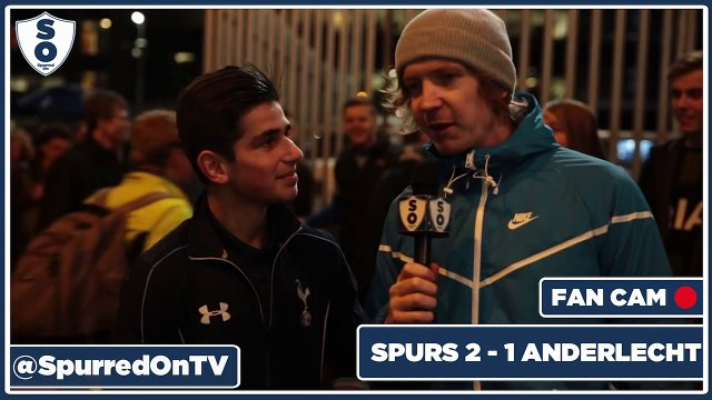 Our Form Will Help Against Arsenal! | Spurs 2-1 Anderlecht | Spurred On