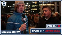 Belgian bromance is really good! | Spurs 3 -1 Aston Villa Fancam | Spurred On