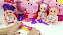 Peppa Pig Chef Peppa Pig Cooking Set Peppa Pig Bedtime Case Princess Peppa Pig Juguetes de Peppa Pig