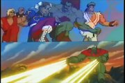 Street fighter Serie animada Intro Latino + Creditos