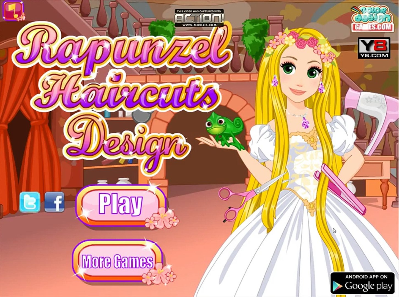 Disney Rapunzel Games - Rapunzel Haircuts Design Game - Disney Princess  Games For Girls