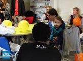 Des joueurs de l'Estac à la rencontre des enfants de l'hôpital de Troyes