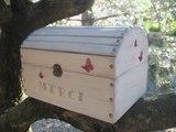 [ART-HOBBY]- Tuto - Urne Mariage-Effet Vieilli sur coffre en bois