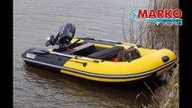 Лодка супер!! надувная лодка ПВХ спортивного класса серия ФЬОРД FR-335 от Марко Ботс