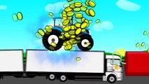 Monstruo Tractor Truco. Las películas de dibujos animados para los niños