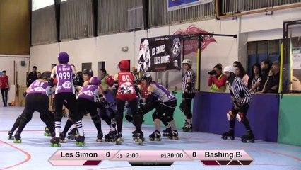 HD_Les Simones VS Les Bashings Banshees 1ere mi-temps