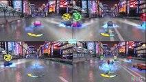 Cars 2 The Game Lightning Fan Guido vs Chuki vs Tomber vs Guido 4 Player By Disney Cars Toy Club