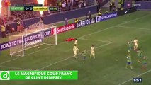 Zap Foot du 24 février: le coup franc de Clint Dempsey, le tifo impressionnant de la Juventus, un jeune du Real marque un but à la Zizou etc.