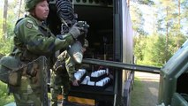Sweden Archer 155 mm self propelled gun howitzer system