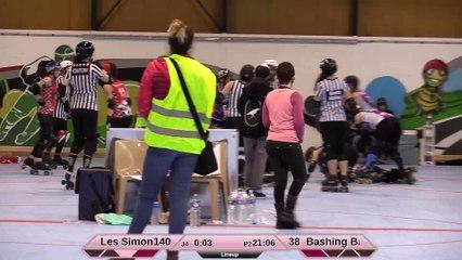 HD Les Simones VS Les Bashings Banshees 2e mi-temps