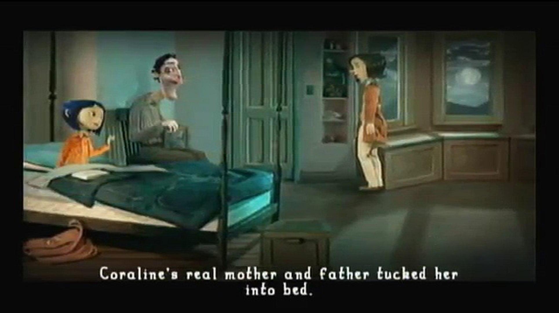 Coraline Walkthrough Part 10 ~ Movie Game (Wii, PS2) [10 of 10] ~ Final Boss + Ending