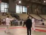 Championnat Judo France 2D -100kg Place 3 Savatier-Aouidate