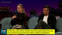 Khloe Discusses American Crime Story